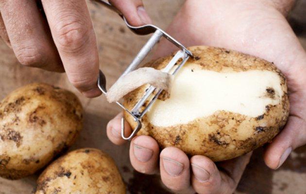 Danske skrællekartofler