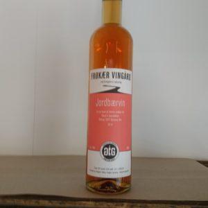 Hjemmelavet jordbærvin